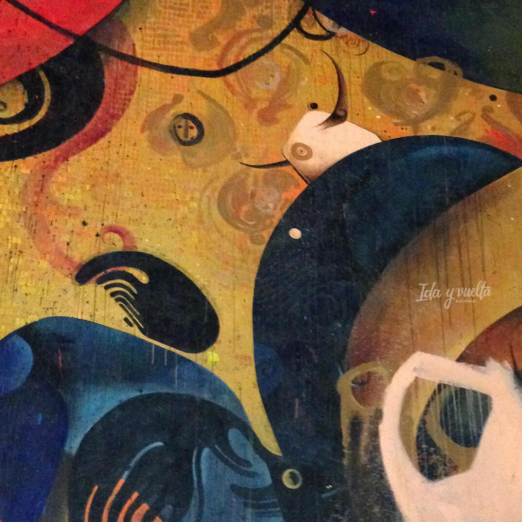 Pinturas murales de Jesús Mateo