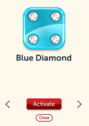 The Blue Diamond Custom Dice Were Awarded To Everyone That Entered Premium Tournament It Basically Cost 40 Bonus Rolls For