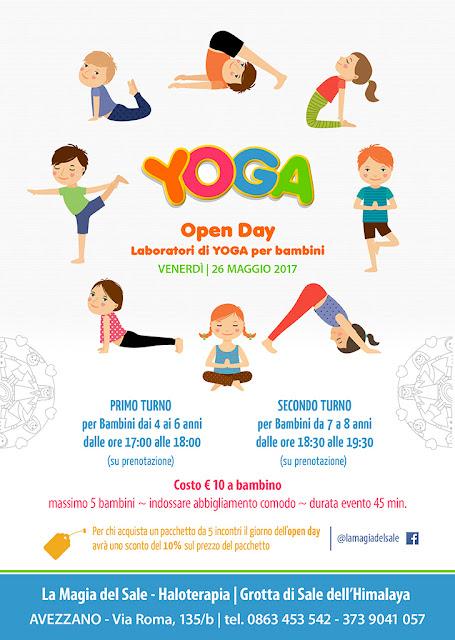 Eventi, Yoga, Sale rosa, Avezzano
