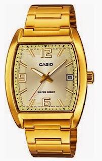 Gambar Jam Tangan Wanita Casio Gold