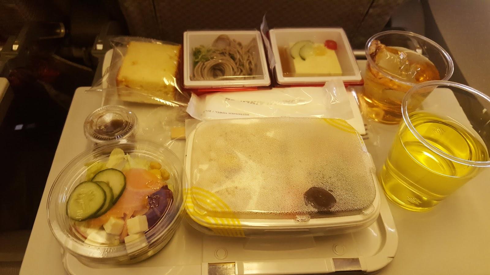 日航JAL(Japan Airline)飛機餐