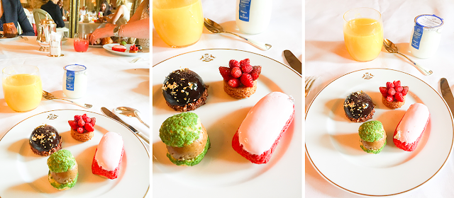 Brunch, Le Meurice, Dorchester Collection, Paris, Desserts