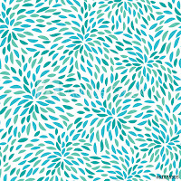 Murale Design Vector Flower Pattern