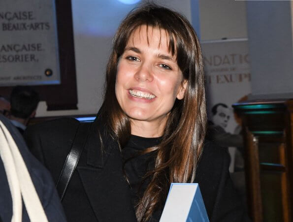 Charlotte Casiraghi attended the events held on the occasion of the 10th anniversary of Saint Exupéry Youth Foundation