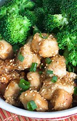 """22 Minute"" Sesame Chicken + Broccoli"