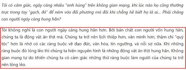 Nguyên văn trả lời phỏng vấn của nhà báo Phạm Trung Tuyến, Phó giám đốc VOV: