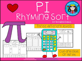 https://www.teacherspayteachers.com/Product/A-Pi-Rhyming-Sort-3022607