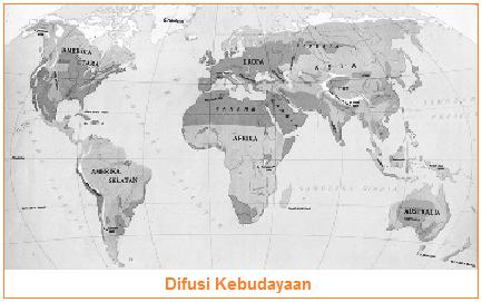 Difusi Kebudayaan (Pengertian, Contoh, Jenis, Bentuk, dan Dampak Difusi Budaya)