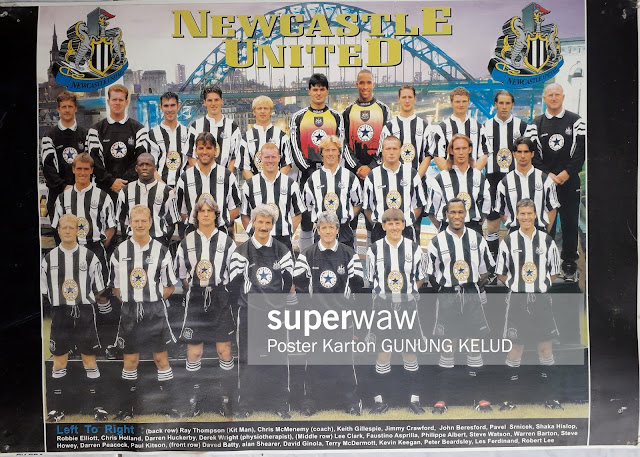 TEAM NEWCASTLE UNITED 1996