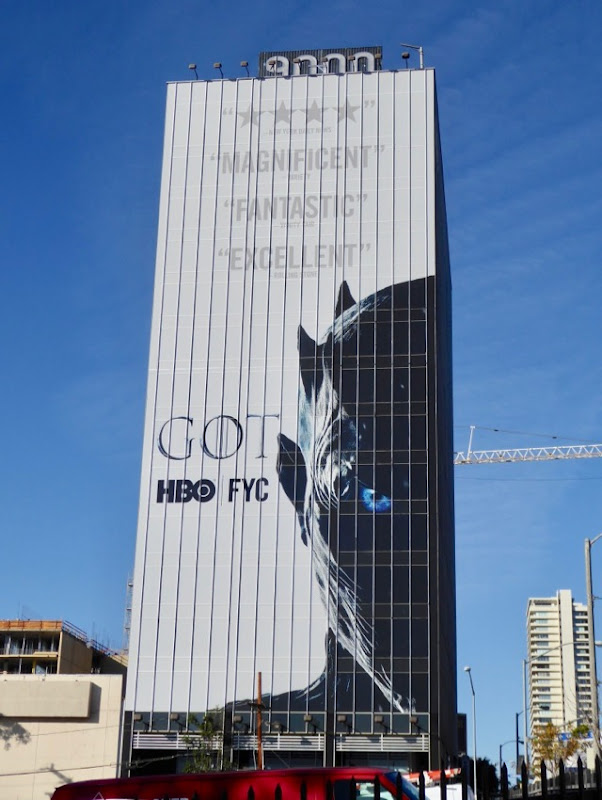Game of Thrones season 7 FYC billboard