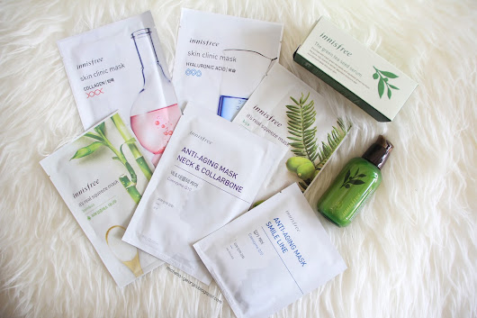 ☽ PRETTY MESSED UP ☾: [REVIEW] INNISFREE GREEN TEA SEED SERUM AND SHEEET MASKS