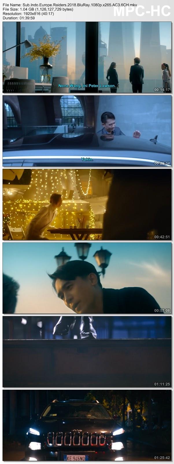 Screenshots Download Ou Zhou gong lue (2018) BluRay 480p & 3GP Subtitle Indonesia