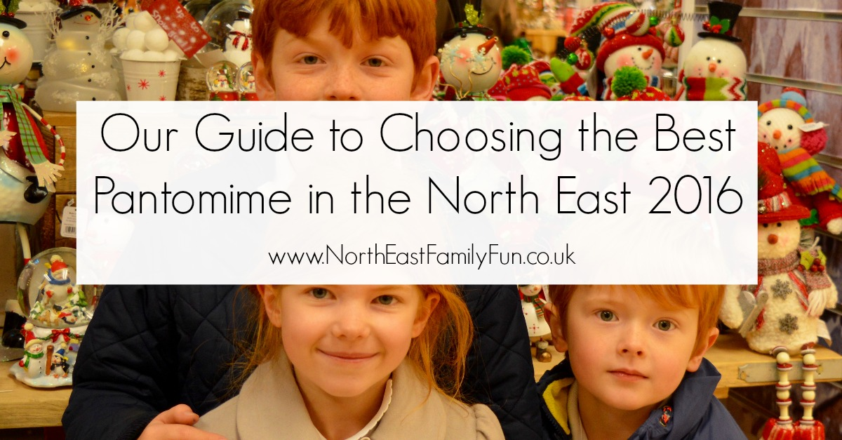 A Guide to North East Pantomimes 2016