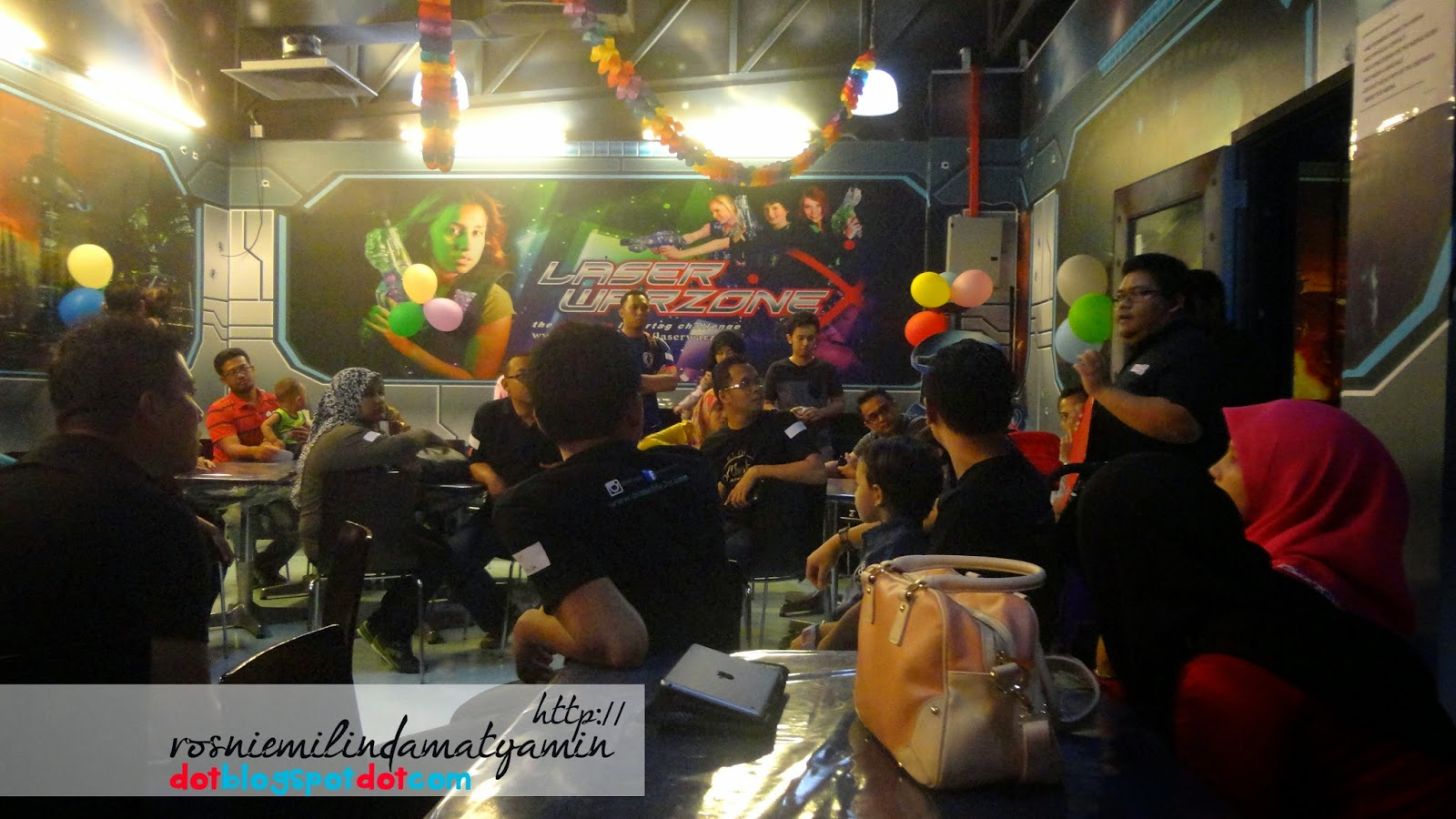 Pengalaman first time main Laser Tag.