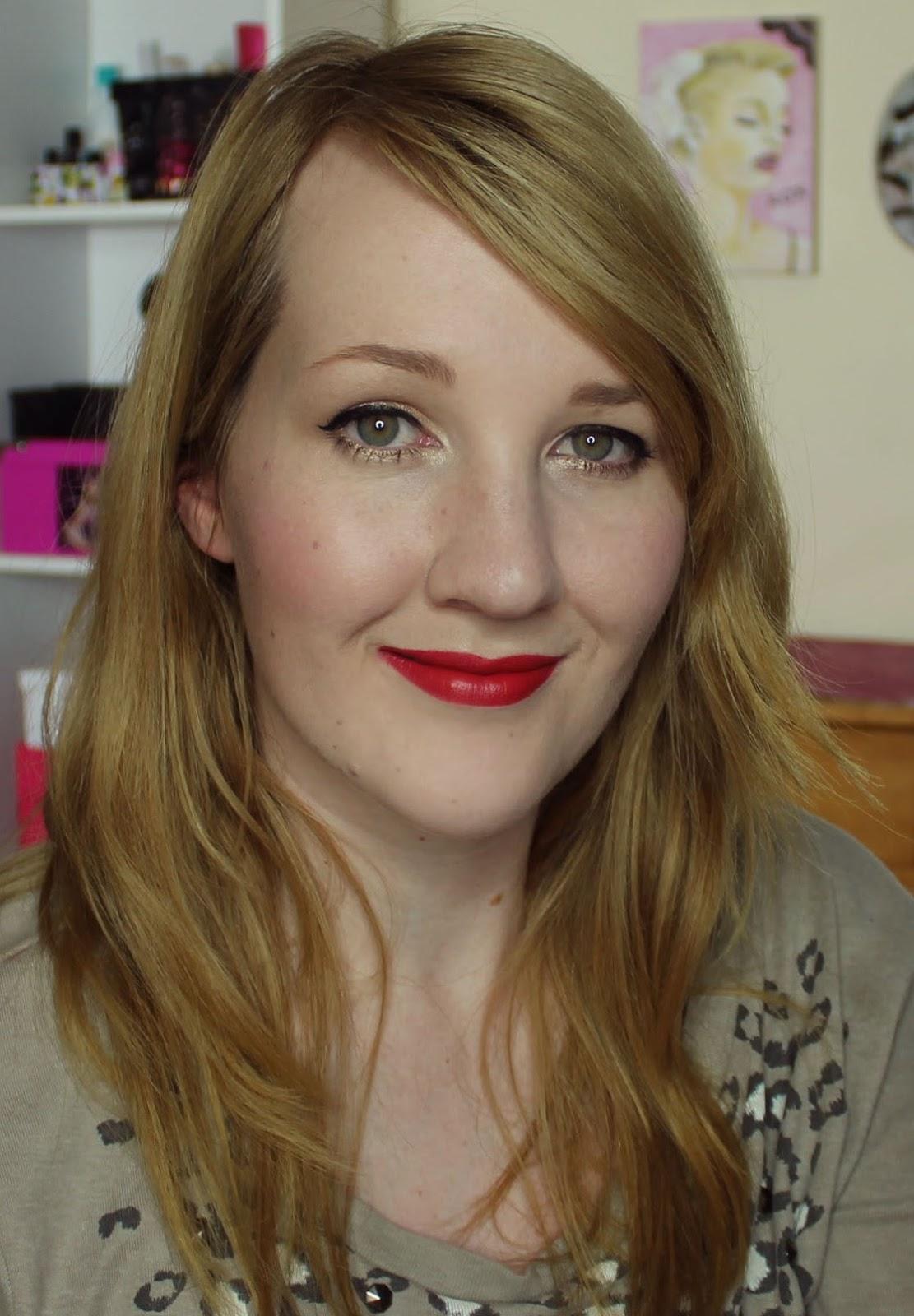 MAC Damn Glamorous Lipstick Swatches & Review
