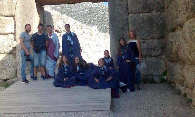 """Ολοκληρώθηκαν τα γυρισμάτων του Γυμνασίου Κουτσοποδίου για την ταινία """"Αγαμέμνων"""""""