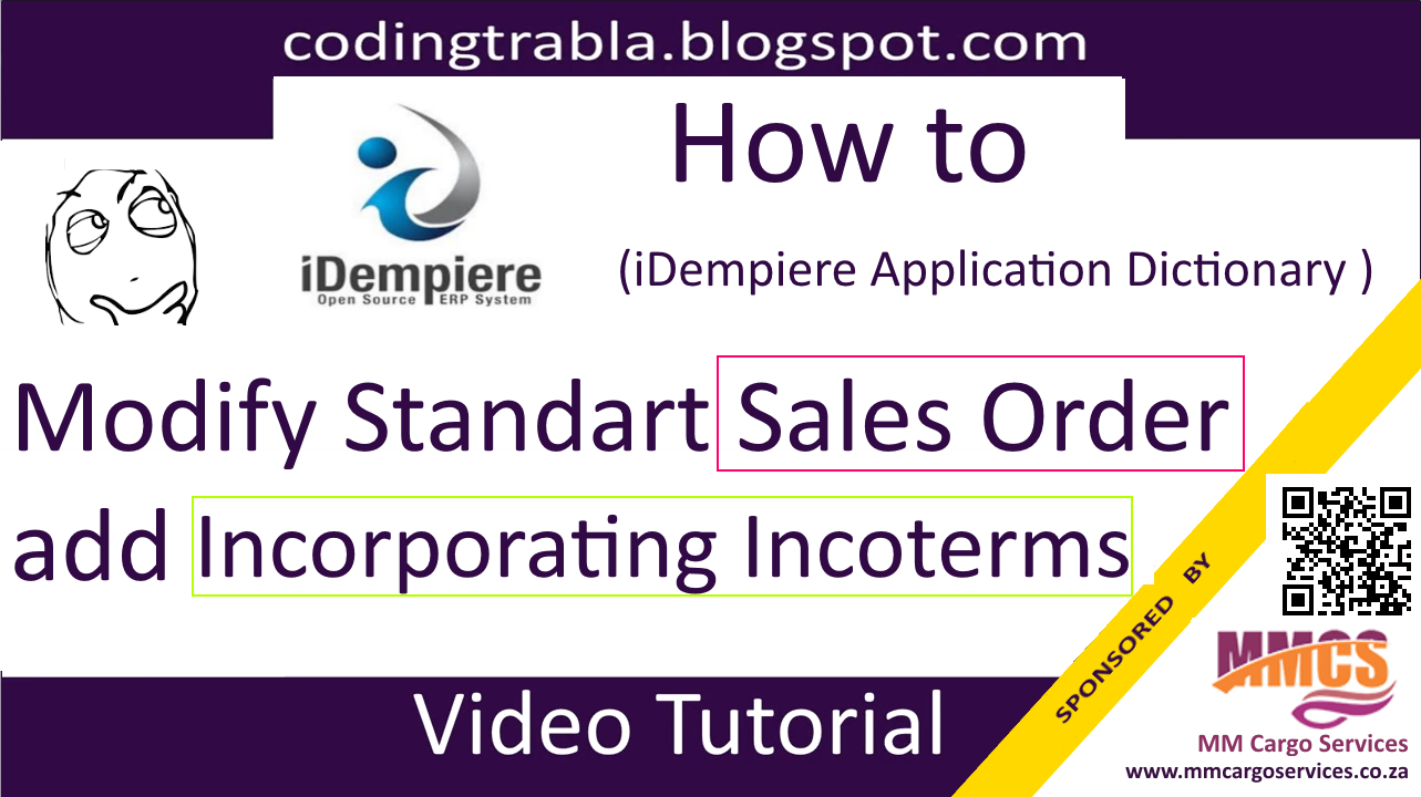 codingtrabla: iDempiere ERP: how to add Incorporating Incoterms into