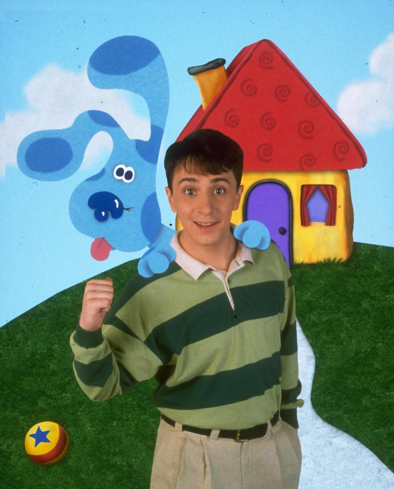Steve Nickelodeon : steve, nickelodeon, NickALive!:, Steve, Burns, Nickelodeon's, 'Blue's, Clues'