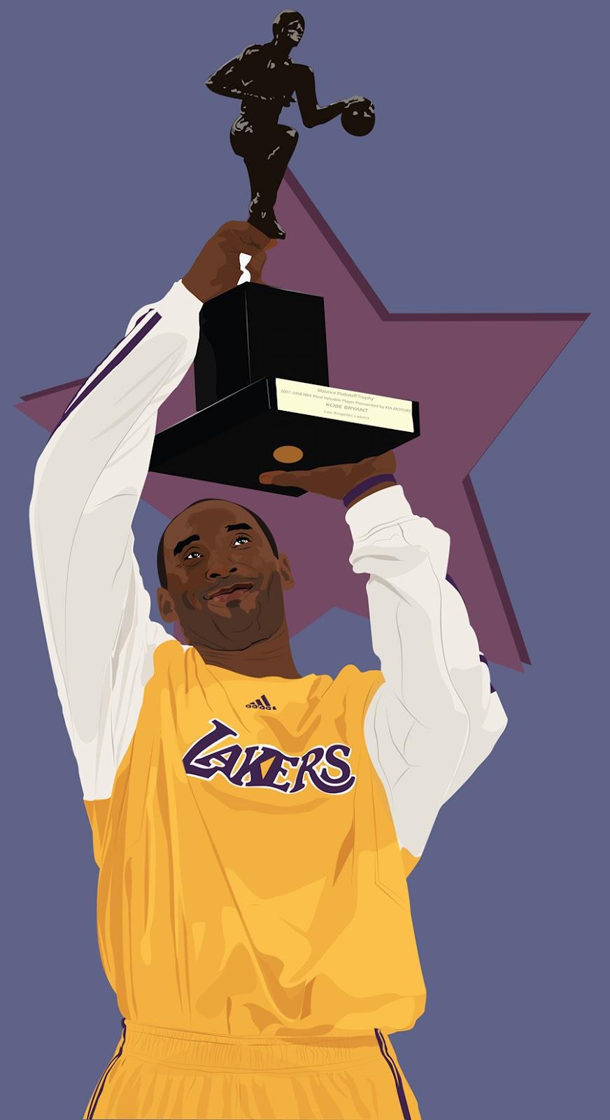 Kobe Cartoon of Pictures Bryant