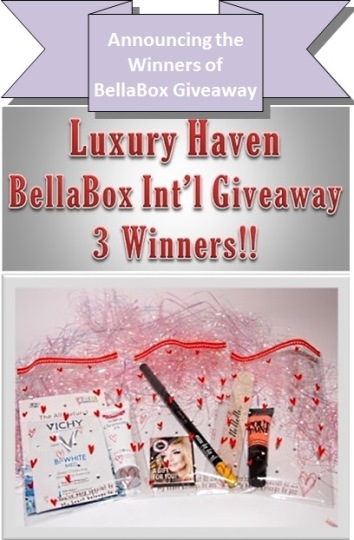 bellabox luxury haven beauty giveaway