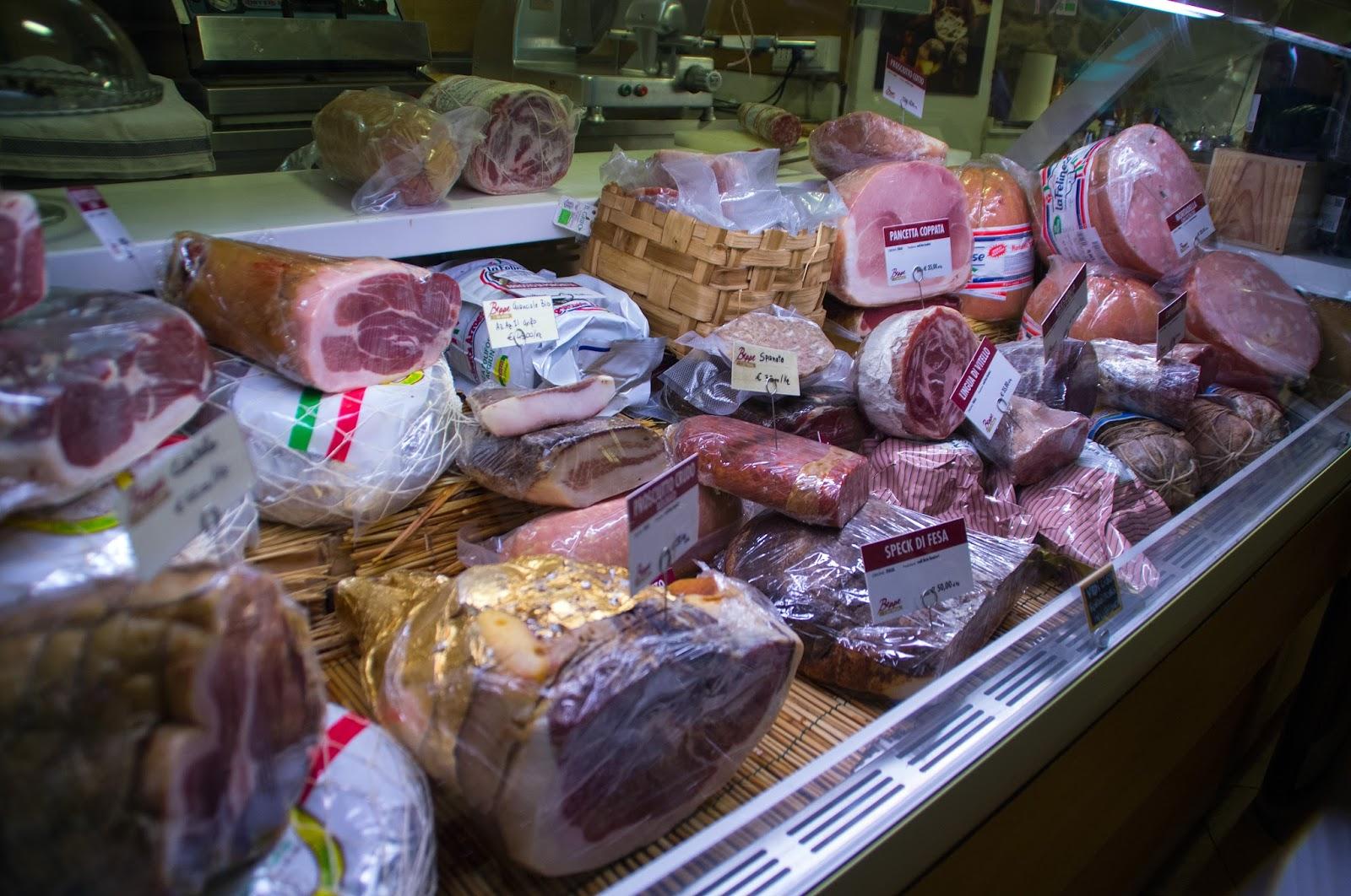 Cured Meats on Secret Food Tour Rome