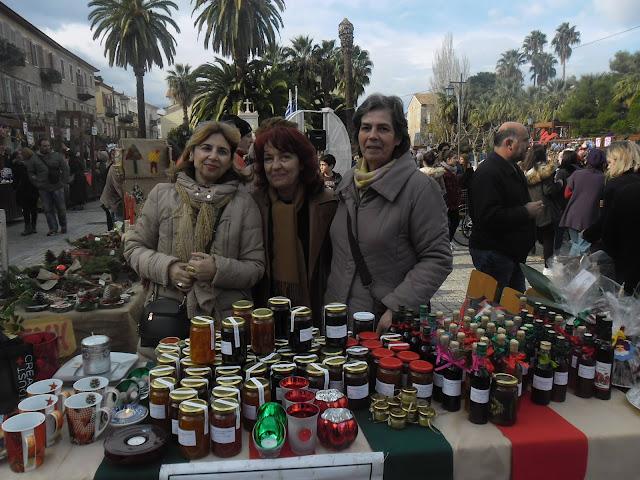 """""""Η ΑΛΛΗΛΕΓΓΥΗ"""" συμμετείχε στο Χριστουγεννιάτικο bazzar στο Ναύπλιο"""