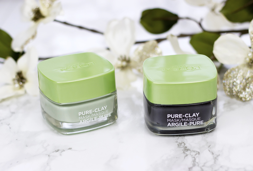 L'Oréal Pure-Clay Masks Review!