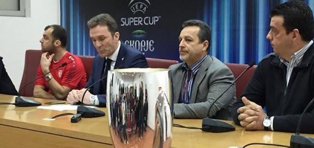 Pandev ambassador of 2017 UEFA Super Cup