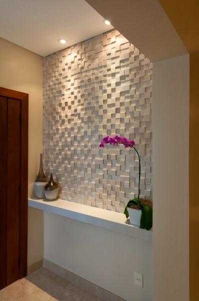 Construindo minha casa clean 50 hall de entrada de casas - Revestimiento de fachadas leroy merlin ...