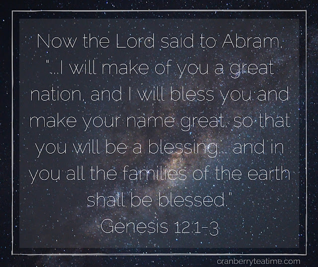"""...I Will Bless You..."" Genesis 12:1-3"