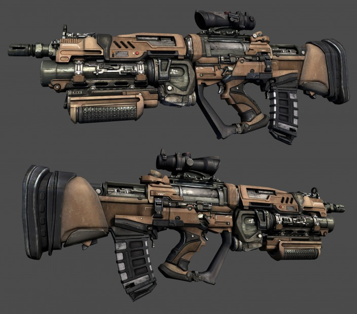 3d Gun Image 3d Home Architect: Sci-Fi By JD Clarke: Sci-Fi Weapons