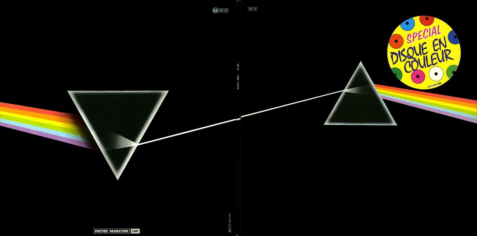 Pink Floyd Ilustrado The Dark Side Of The Moon L P