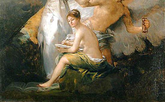 """""""La Verdad, la Historia y el Tiempo"""" by Francisco Goya (1797-1800)"""