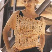 Blusa Dorada a Crochet