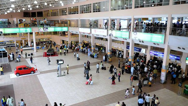 Libyan Returnee Nigerian Woman Went Into Labour At Lagos Airport