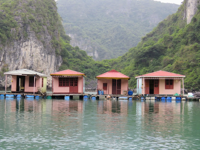 Floating Village on Halong Bay Vietnam