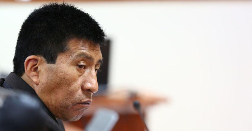 MOISÉS MAMANI COLQUEHUANCA: Subcomisión de Acusaciones verá este lunes denuncias contra parlamentario fujimorista