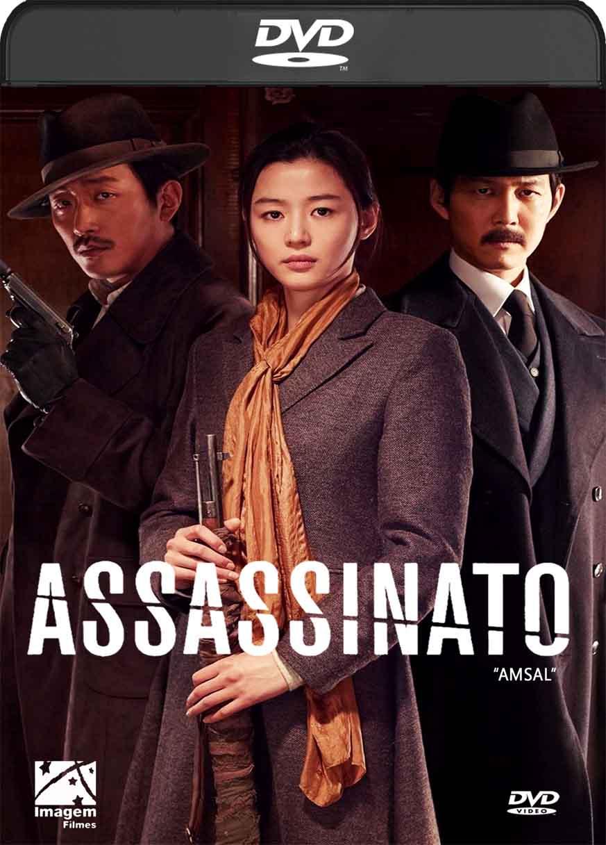 Assassinato (2016) DVD-R Autorado