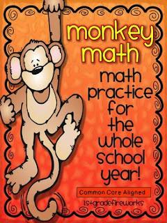 monkey math, first grade math