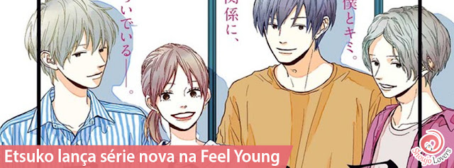 Etsuko lança série nova na Feel Young