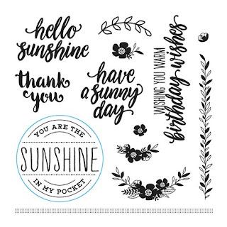 #CTMHChelseaGardens, Chelsea Gardens, #CTMHBasicFundamentals, Enchantment Fundamentals, #CTMHEnchantmentFundamentals, Thankful, thank you, pocket cards, pocket, denim, stripes, Stamp of the Month, February, 3D Foam, S1802, Vandra, flowers, Birthday, Sunshine