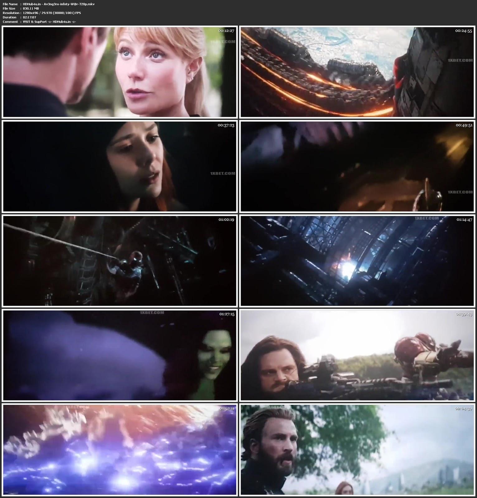 Avengers Infinity War 2018 Hindi Dual Audio 480p HDTS