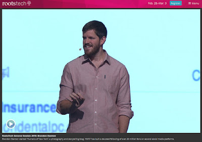 Brandon Stanton at RootsTech 2018