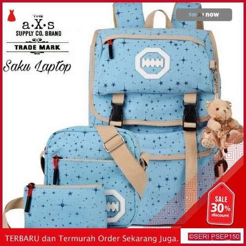 D88699 TAS Wanita Tas Sekolah Gendong Motif Bintang | BMGShop