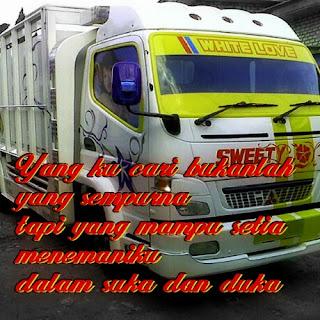 kata bijak cinta supir truk