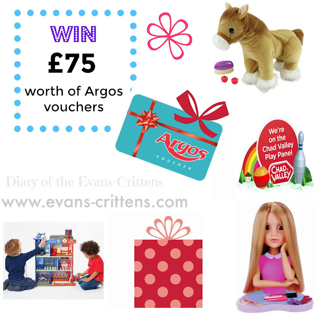 Chad Valley, Argos, Competition, £75 of vouchers, Chad Valley Play Panel