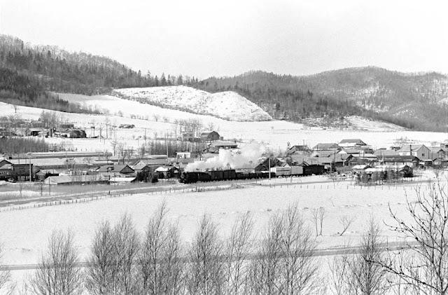 冬のオホーツク、湧綱線計呂地