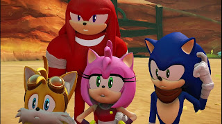 sonic forces sonic team