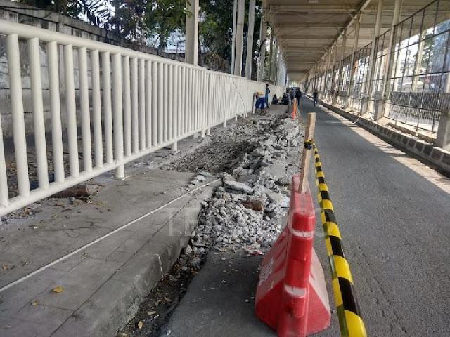 Anies Baswedan Tak Punya Target Penyelesaian Skybridge Tanah Abang
