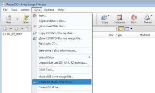 making a bootable usb drive1